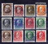 Germania 1914 - Bayern serie deparaiata din Mi.Nr.94/109, Stampilat