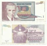 YUGOSLAVIA  5.000.000 Dinari 1993  !!!