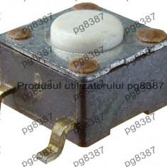 Push buton SMD, 6x6x4 mm-4206