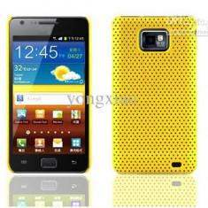 Samsung galaxy s2 i9100 husa galbena silicon