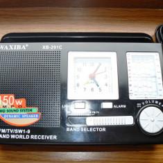 Radio cu ceas - Aparat radio, Analog