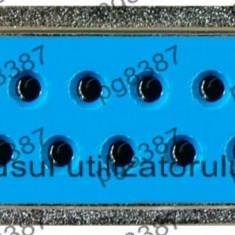 Conector DB15, mama, lipire, pe cablu - 124015