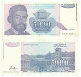 YUGOSLAVIA  50.000 Dinari 1993  !!!