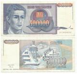 YUGOSLAVIA  500.000 Dinari 1993  !!!