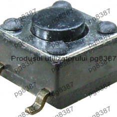 Push buton 6x6x4 mm-4300