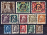 Germania 1911 - Bayern serie deparaiata din Mi.Nr.76/91, Nestampilat