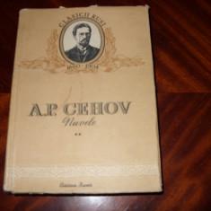 A.P. Cehov - NUVELE ll { Cartea Rusa, 1952 } * - Carte veche