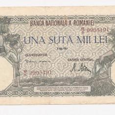 100000 lei 1947 - Bancnota romaneasca
