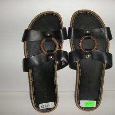 OFERTA! Papuci/sandale dama TIMBERLAND originale noi piele integral Sz 37 !, Culoare: Negru, Piele naturala
