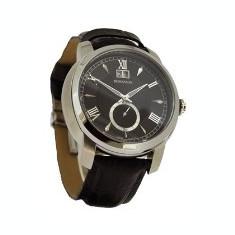 Ceas Romanson barbatesc cod TL8269 MW-BK - pret vanzare 669 lei; NOU; ORIGINAL; ceasul este livrat in cutie si este insotit de garantie - Ceas barbatesc Romanson, Casual, Quartz, Inox, Piele, Data