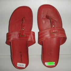 OFERTA! Papuci/sandale dama Timberland ORIGINALE piele integral Sz 37 !, Culoare: Rosu, Piele naturala