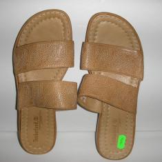 OFERTA! Papuci/sandale dama Timberland Comforia System ORIGINALE sz 37 piele !, Culoare: Camel, Piele naturala