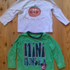 Bluza copii 9-12 luni! Pretul este pe set!, Culoare: Bleumarin