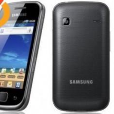 Samsung galaxy gio - Telefon mobil Samsung Galaxy Gio, Negru, Neblocat