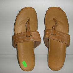 OFERTA! Papuci/sandale dama TIMBERLAND originale noi piele integral 37, Culoare: Camel, Piele naturala