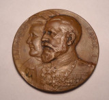 Medalie Carol si Elisabeta 1913