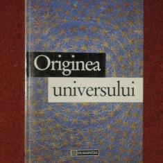 ORIGINEA UNIVERSULUI - JOHN BARROW (autograf)