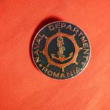 Insigna Naval Department Romania