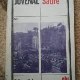 Juvenal Satire editura univers 1986 carte roman beletristica