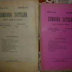 Comoara satelor ( revista lunara de folklor ) - 35 de numere ( anii I - V, 1923 - 1927 )