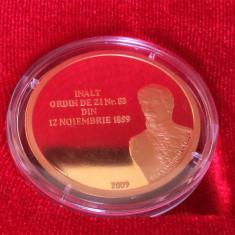 * Medalie  2009 - 150 de ani de la Infiinţarea Statului Major General al Armatei Romane -  tombac