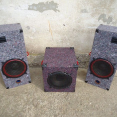 BOXE AUDIO 300 W+SUBWOOFER 150 W