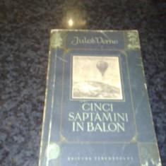 Jules Verne - Cinci saptamani in balon - 1955