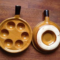 Frumos suport pentru oua din ceramica !!! - Arta Ceramica