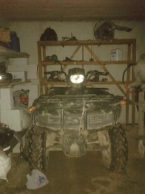 Atv LONCIN 250cc are 21 cp pe cardan cu troliu cu 5 viteze fara ambreaj se schimba citezele e simplu . foto