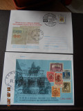 Plic 4 exp. fil. timisoara 2000 stampila temesvar