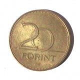 G1. UNGARIA 20 FORINT 1994 **, Europa