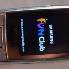 Samsung D880 Dual sim Original - Telefon Samsung, Negru, 2GB, Neblocat, Cu slide