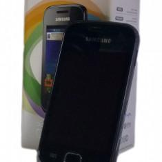 Telefon Samsung Galaxy Gio - S5660 - Telefon mobil Samsung Galaxy Gio, Negru, Vodafone