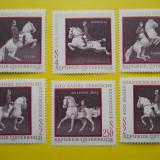 Austria-1972-Scoala spaniola de dresaj-6 val-mnh 339 - Timbre straine