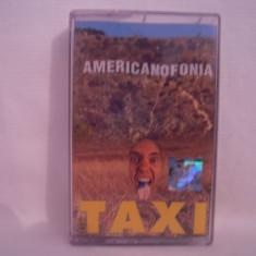Vand caseta audio Taxi-Americanofonia, originala - Muzica Pop cat music, Casete audio