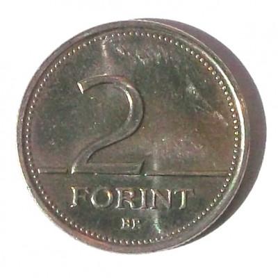G1. UNGARIA 2 FORINT 2000 ** foto