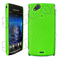 Husa plastic Sony Ericsson Arc LT15i Lt18i X12 + folie ecran + expediere gratuita - sell by PHONICA