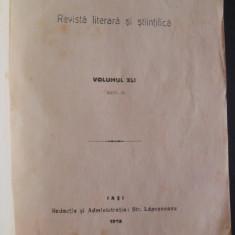 C.Stere, I.Cantacuzino, Viata romaneasca, anul XI, Vol  XLI, 1916