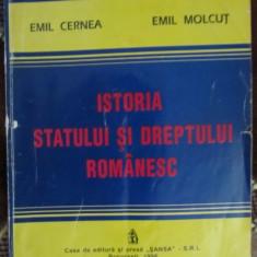 E. Molcut - Istoria statului si dreptului romanesc - Carte Istoria dreptului