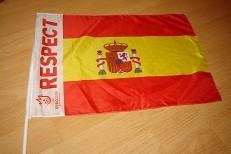 Drapel Steag EURO 2008  Spania foto mare