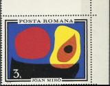 LP 744 - Inundatia II Joan Miro, Arta, Nestampilat