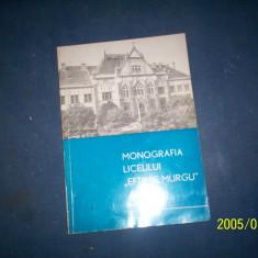 MONOGRAFIA LICEULUI EFTIMIE MURGU  TIMISOARA