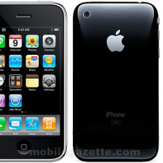 iPhone 3G Apple 8gb black, Negru, Neblocat