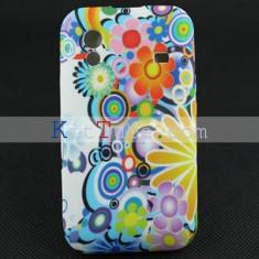 husa flower power Samsung Galaxy ACE S5830  + folie protectie ecran + expediere gratuita