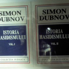 ISTORIA HASIDISMULUI - SIMON DUBNOV - 2 volume - Carti Iudaism