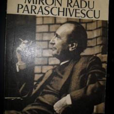 Miron Radu Paraschivescu - Amintiri