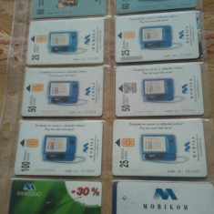 Lot 20 cartele telefonice Rusia + folie de plastic + taxele postale = 30 roni - Cartela telefonica straina