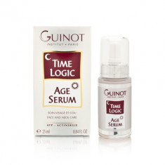 "Guinot-""Time Logic-Age serum 25ml""-tratament fata si gat"
