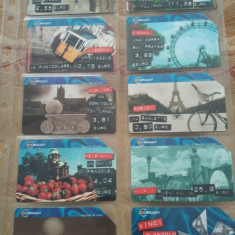 Lot 20 cartele telefonice Italia, emisiunea eurotelefon + folie de plastic + taxele postale = 30 roni - Cartela telefonica straina