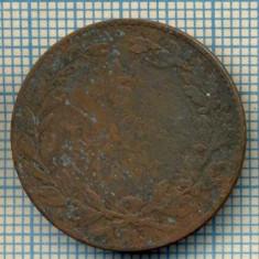 685 MONEDA VECHE - ROMANIA - 5 BANI -anul 1867 ? -starea care se vede - Moneda Romania